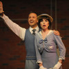 """Zak Edwards is Billy and Julie Kavanagh is Peggy in the Merry-Go-Round's production of """"42nd Street. Photo provided by the theatre."""
