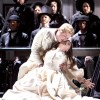 Lyubov Petrova as Lucia and Corey Evan Rotz as Arturo. Photo by Scott Suchman.