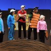 The Peanuts gang is all here and ready to play a little baseball in Olney Theatre Center's production of YOU'RE A GOOD MAN, CHARLIE BROWN. Photo by Stan Barouh.