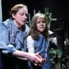 (Annie Sullivan) and (Helen Keller). Photo courtesy of Compass Studio Theater.