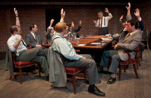 12 angry men philosophical approach Examining the greats: what more is there to say about twelve angry men eleven of the angry men juror #12 got  the classic film twelve angry men,.