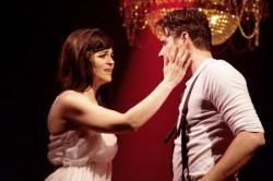 Rachel Zampelli as Rachel Jackson and Heath Calvert as Andrew Jackson.' Photo by Scotty Beland.