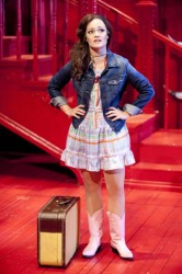 Erin Driscoll as Angel.  Photo by Scott Suchman.