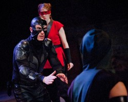 Andrés C. Talero as Nightlife and Blair Bowers as Belt.  Photos courtesy of Alliance Theatre.