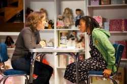 Dawn Thomas as Mia and Maya Jackson as Holly.  Photo: Ryan Maxwell.