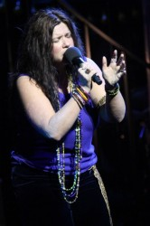 Mary Bridget Davies as Janis Joplin.  Photo by Janet Macoska.