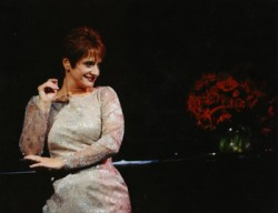 Patti LuPone performing 'Matters of the Heart' at Lincoln Center.  Photo courtesy of Patti LuPone's website.