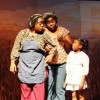 Andrea Gerald as Celie, Shanice Jones as Sophia, and Kimaria Samuels as the young lady.  Photo courtesy of The Tantallon Community Players.