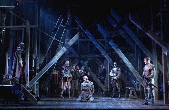The cast of Folger's Henry V. Photo by Scott Suchman.
