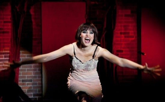 Maria Rizzo as Sally Bowles.  Photo by C Stanley Photography.