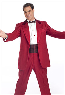James Clow as Bob Wallace in 'Irving Berlin's White Christmas.'  Photo by Joan Marcus.