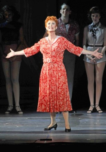 Ruth Williamson stars as Martha Watson in Irving Berlin's 'White Christmas.' Photo by Tanner Photography.