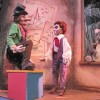Marionettes Mr. Barnaby and Tom Tom. The Puppet Co. Playhouse Photo.