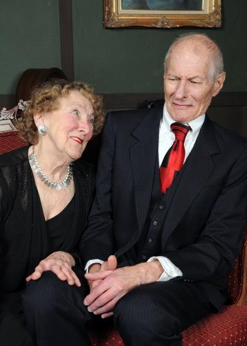 Ann Mainolfi, Denis L. Latowski.  Photo by Tom Lauer.