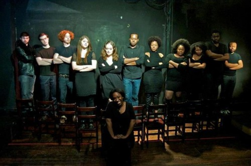 The cast of 'The Bubbly Black Girl Sheds Her Chameleon Skin.' Photo courtesy of Strand Theater Company.