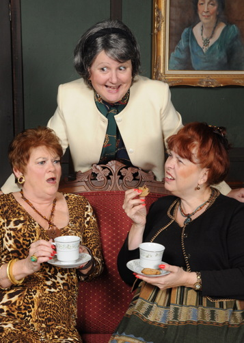 Carol Conley Evans, Joan Crooks. Janise Whalen.  Photo by Tom Lauer.