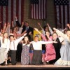 The cast of 'The Music Man' at Reisterstown Theatre Project. Photo by Yuriy Benkler.