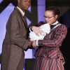 Coalhouse Walker Jr (Elgin Martin) is convinced that he and Sarah (Shenayra Quiles) will be able to make a better life for their son with their Wheels on a Dream. Photo by Erica Land.