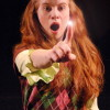 Megan Graves as Lucy. Photo by Imagination Stage.