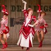 Kate Loprest as Ellie May Chipley (center) and the company of Show Boat. Photo by Scott Suchman.