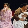 Lelia TahaBurt (Catherine Givings) and Aricia Skidmore-Williams (Elizabeth). Photo courtesy of Colonial Players.