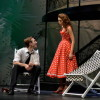 Grayson Owen (Benedick) and Chandish Nester (Beatrice). Photo provided by Annapolis Shakespeare Company.