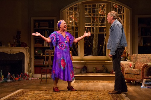 Estelle Parsons as Alexandra and Stephen Spinella as Chris. Photo by Teresa Wood.