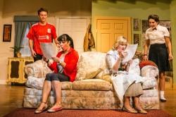 Luke Markham (Gavin Smith), Annie Ermlick (Barbara Smith), Tricia O'Neill-Politte (Mary Smith).  Pictures by Tabitha Rymal - Vaughn