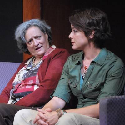 Nancy Robinette, Megan Anderson.  Photo by Stan Barouh.