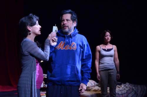 Susan Rome, Peter Birkenhead, Megan Anderson.  Photo by Stan Barouh.