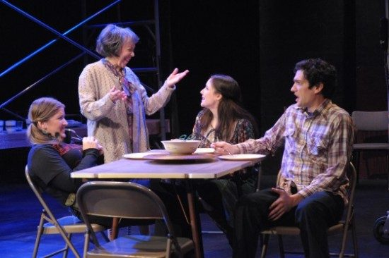 Jjana Valentiner, Barbara Rappaport, Sarah Taurchini, Joshua Dick. Photo by Stan Barouh.