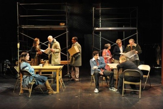 The cast of 'Our Suburb.'  Photo by Stan Barouh.