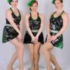 Caitlyn McClellan, Amanda Cimaglia and Lacy Comstock. Photo by Rachel Parker.