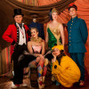 The cast of 'Impossible! A Happenstance Circus.' Photo by Leslie McConnaughey.
