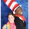 Aurora Beckett as JoJo and Tendo Nsubuga as the Cat in the Hat.  Photo by MCSDT.