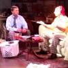 Chris Barsam as Felix Ungar and Sam Ranocchia as Oscar Madison in The Odd Couple. Photo courtesy of the production.