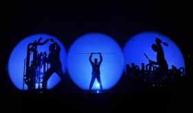 Blue Man Group. Photo by  Denise Truscello.