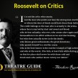 It is not the critic who counts-MDTG